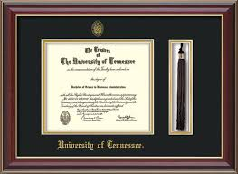 university of tennessee diploma frames online framing gifts  seal tassel holder