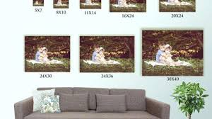 wall art size guide stylish sizes comparison standard regarding 18  on standard wall art sizes with wall art size guide warm nations photo lab for 19 chetekantiques
