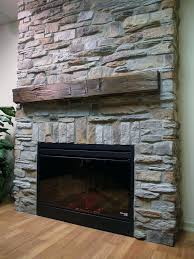 how to put up stone on fireplace wall faux fireplace with a stone wall for inside