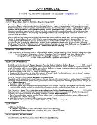 Sales Executive Sample Resume A Professional Resume Template For A Regional Sales Manager Want It
