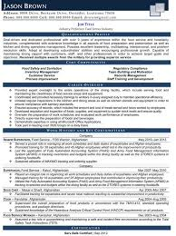 Restaurant And Fo Cute Food Service Manager Resume Sample Free
