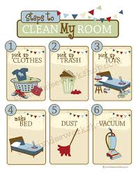 Clean Room Chart Printable The Creatividee Workshop Blog The Creatividee Workshop