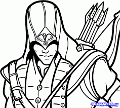 Assassins Creed 3 Symbol How To Draw Connor Connor Kenway From