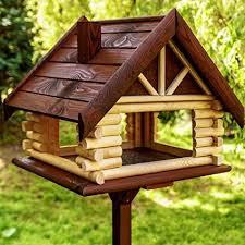 wooden bird feeders bird house feeder
