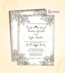 Wedding Invitation Templates Downloads Free To Download Wedding Invitation Template Make Your Own