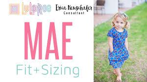 Lularoe Kids Size Chart Lularoe Mae Sizing Fit