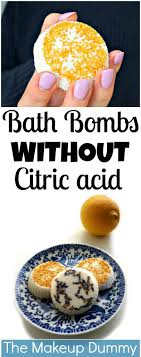 diy bath s without citric acid or cream of tartar using lemon juice tutorial by