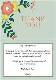 Thank You Notes For Funeral Flowers From Work 33 Best Funeral Thank ...