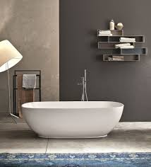 view in gallery betty classic shaped freestanding bathtub in white