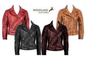women s shoulder detail leather jacket 4 colours sizes 10 20