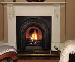 traditional gas log fire by nectre