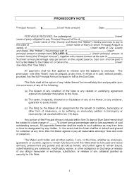 Template Mortgage Promissory Note Template Sample Form Mortgage