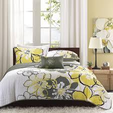 Lemon And Grey Bedroom Yellow And Grey Bedding Target My Blog