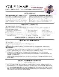 Interior Design Resume Cover Letter Cv Pinterest Samples Pdf