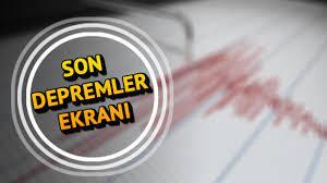 Deprem mi oldu? En son nerede deprem oldu? Kandilli ve AFAD son depremler  listesi güncellendi