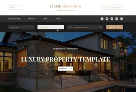 Small Picture 60 Best HTML Real Estate Website Templates 2017