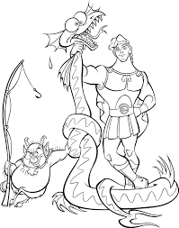 Small Picture Coloring Page Hercules coloring pages 14