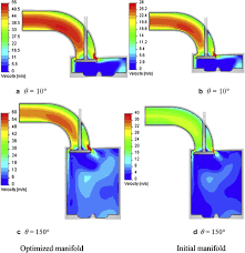 Influence of intake manifold design on in-cylinder flow and engine ...