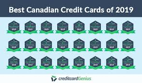 Credit Card Comparison Chart 2018 Best Canadian Credit Cards Of 2019 Creditcardgenius