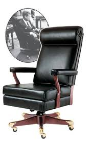 oval office chair. John F. Kennedy Oval Office Chair (History Company)