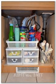kitchen under sink storage ideas