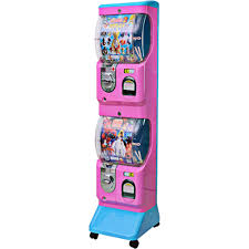 Capsule Vending Machine Fascinating Double Toy Capsule Vending Machine Standard Version Arcade Video