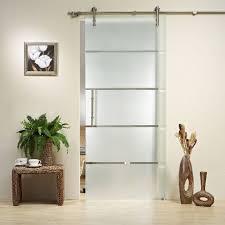 interior barn door with glass. Sliding Barn Doors Glass Interior Door With