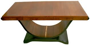 french art deco dining room table u swan base rosewood art deco rosewood dining