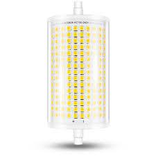 Amber Flood Light Bulb 118mm Led Light Bulb J118 R7s Dimmable Led Flood Light 14w