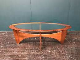 astro oval coffee table by vb wilkins for gplan retro vintage mid century