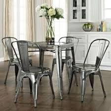 metal kitchen table. Galvanized Kitchen Table \u0026 Chairs \u003e ♥ Metal...ANYTHING! Metal