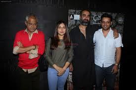 Bhumi Pednekar, Sanjay Misra, Ranvir Shorey at the Screening Of Kadvi Hawa  on 23rd Nov 2017 / Sanjay Mishra - Bollywood Photos