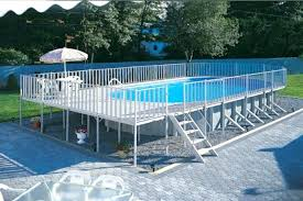 rectangle above ground pool sizes. Above Ground Rectangular Pool Rectangle With Deck Uniquely Awesome Pools . Sizes G
