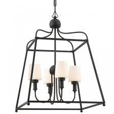 crystorama syl 2284 sylvan 4 light outdoor chandelier
