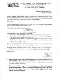 Ignou Indira Gandhi National Open University Regional Center