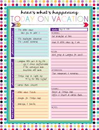 Free Printable Daily And Weekly Vacation Calendars Organization