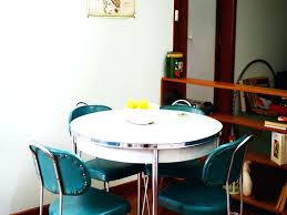 small retro dining table small retro small retro style with round white dining table and green