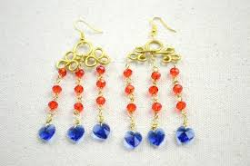 how to make a pair of chandelier earrings diy chandelier earrings inspired by stunning wire