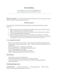 Sample Security Guard Resume Security Guard Resume Skills From Stunning Security Officer Resume