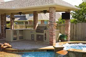 Magnificent Kitchen Yard Designs Backyard Designs With Pool And - Outdoor kitchen designs with pool