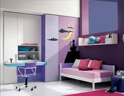 This fun room was created using the analogous colors blue-violet, violet,  and
