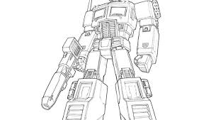 Small Picture Transformers Coloring Pages Optimus Prime Bebo Pandco
