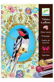 <b>Набор Блестящие птицы Djeco</b> (Джеко) арт 09501 ...