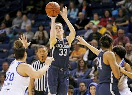 uconn x2019 s katie lou samuelson 33 shoots in front of tulsa