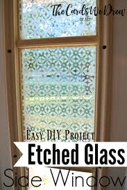 front door with window. Etched-glass-side-window-treatment-from-the-cards- Front Door With Window E