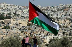 Palestine is a name sometimes given to part of the land that generally comprises the promised land given to the israelites / jews in the bible. Palestine The Third Way Forward Middle East Al Jazeera