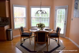 Kitchen Window Ideas : Bay Window Treatment Solution