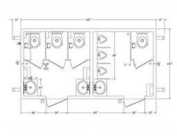 Ada Bathroom Designs Ada Bathroom Dimensions For Handicap ...