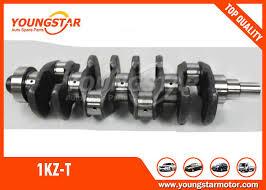 Car Engine Crankshaft For TOYOTA 1KZ-T / 1KZ-TE 3.0TD 13401 - 67010
