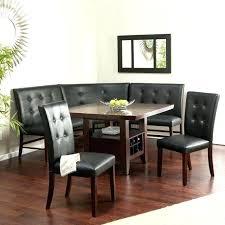 contemporary black dining room sets contemporary breakfast nook set modern formal dining room sets corner bench